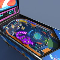 Pinball machine #02