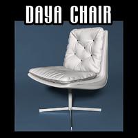 daya chair 3d obj