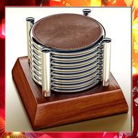 3dsmax chivas regal coasters