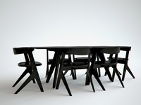 Slab dining Table by Tom Dixon - Composition