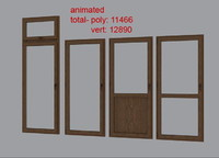 balcony doors 1-4