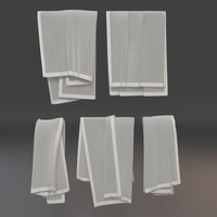 3ds max towels 2