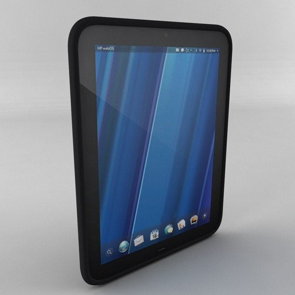 hp touchpad 3d model - Hp Touchpad... by pointlattest