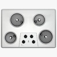 Electric Cooktop with Exposed Elements