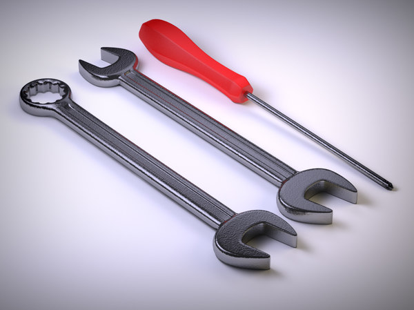 3ds max tool screwdriver - Tools... by piren