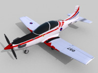 free 3ds model pilatus pc-9m swift