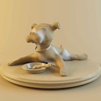 figurine dog