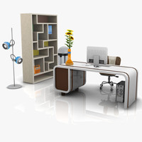 Modern Office Set 03