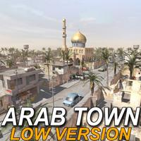 arab town street lwo
