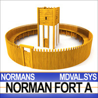 Medieval Norman Fort