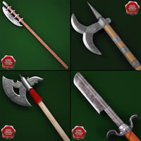 Medieval Axes Collection V3