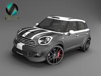 3d model materials car