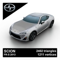 2013 scion fr-s 3ds