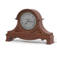 table fireplace clock 3d model