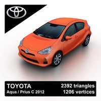 Toyota Aqua / Prius C 2012