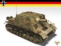3d model sturmpanzer brummbars