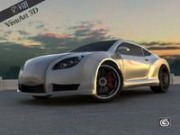 maya supercar concept