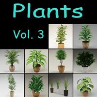 3ds max plants