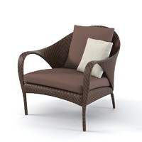 dedon tango chair 3ds