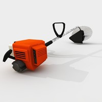 3d model of edge trimmer