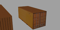 3ds container teu 20ft