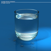 3ds max glass water