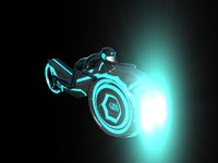 Tron Legacy Styled Grid Bike/Light Cycle