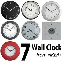 7 Wall clock from Ikea