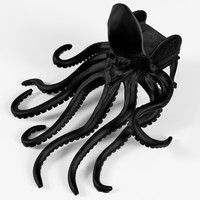 3d model of octopus chair