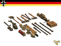 lightwave german tool set pz