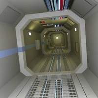 3dsmax control corridor