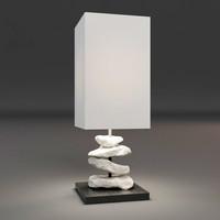3d model lamp stone