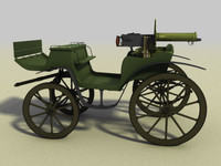 3d horse military
