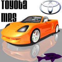 free toyota mrs 3d model