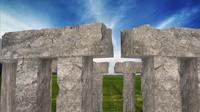 stonehenge stone henge 3d model