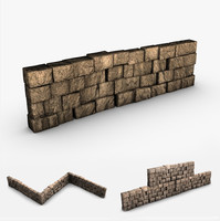3ds max stone block wall