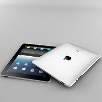 3d ipad 1 apple model
