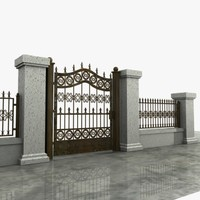 Wrought Iron Gate 08