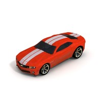 2010 chevy camero sports car obj