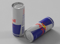 energy drink 3d max