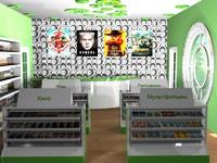 shop cd 3d model
