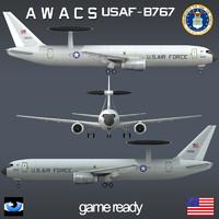 USAF AWACS E 767-B767