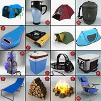 camping 2 3d model