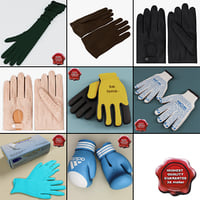 gloves set horse 3ds