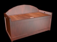 cherry wood chest 3ds free