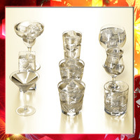 glass collections 9 3d model