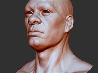 3d model head faces