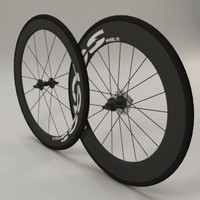 3d model aero wheels