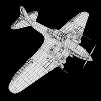 3d il-2 shturmovik model