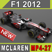 Mclaren MP4-27 2012